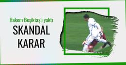 Dinamo Kiev maçında Beşiktaş aleyhine skandal karar