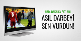 Şenol Güneş Aboubakar'a yüklendi!