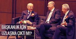 AK Parti ile MHP yeni anayasada uzlaştı
