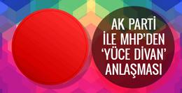 Yüce Divan'da yargılama nasıl olacak AK Parti ile MHP anlaştı