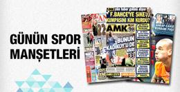Spor gazetelerinde günün manşetleri - 10 Şubat 2015