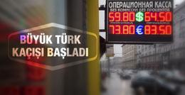 Rusya'dan ilk büyük Türk kaçışı