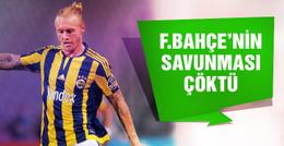 Fenerbahçe'de savunma çöktü!