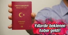 Pasaport harçları kalktı
