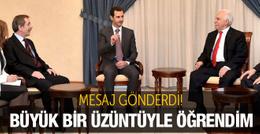 Doğu Perinçek'ten Esad'a başsağlığı!