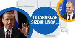 Sızdırılan tutanaklar Erdoğan'a müthiş yaradı