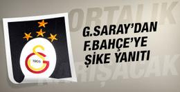 Galatasaray'dan Fenerbahçe'ye şike yanıtı