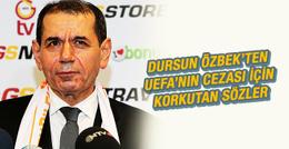 Dursun Özbek'ten UEFA cezası hakkında flaş açıklama