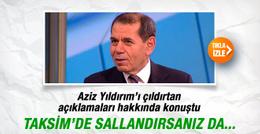Dursun Özbek'ten TFF'ye Aziz Yıldırım resti!