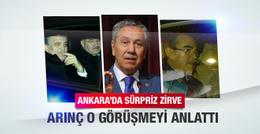 Abdullah Gül'den Arınç'ın evine kritik ziyaret!