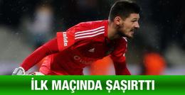 Beşiktaş'taki ilk maçında Boyko şaşırttı
