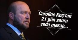 Caroline Koç eşi Mustafa Koç'u böyle anlattı!