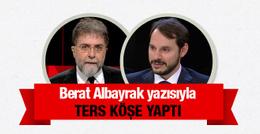 Ahmet Hakan'dan ters köşe Berat Albayrak yazısı