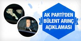 AK Parti Sözcüsü Çelik'ten Arınç ve Çelik açıklaması