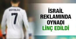 Ronaldo'nun İsrail reklamına büyük tepki