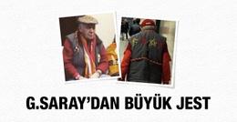 Galatasaray'dan sarı-kırmızı aşığı amcaya jest