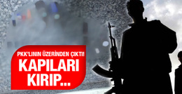 PKK'lının üzerinden çıktı! Sur'da kapıyı kırıp...