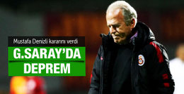 Galatasaray'da Mustafa Denizli krizi kapıda!