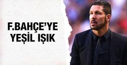 Simeone'dan Fenerbahçe'ye yeşil ışık