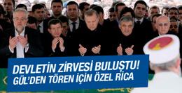 Abdullah Gül'den cenaze töreni için özel rica!