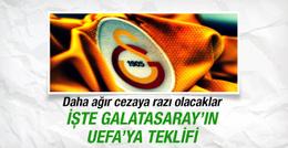 Galatasaray'ın UEFA'ya teklifi ortaya çıktı