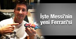 Lionel Messi'nin yeni Ferrari'si!