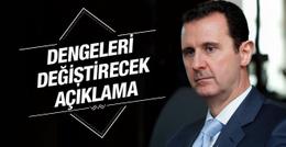 Esad'dan olay yaratacak Suriye Türkiye iddiası