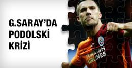 Galatasaray'da Lukas Podolski krizi!