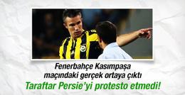 Taraftar aslında Pereira'yı protesto etmedi!