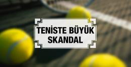Tenis camiası bir skandalla daha çalkalanıyor