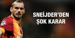Galatasaray'de Sneijder krizi kapıda!