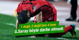 Galatasaray böyle darbe almadı!