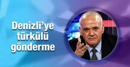 Ahmet Çakar'dan Denizli'ye türkülü gönderme