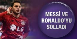 Hakan Çalhanoğlu Messi ve Ronaldo'yu solladı!