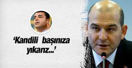 Süleyman Soylu Bütçe Komisyonu'nda HDP'ye sert çıktı
