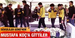 Fenerbahçe'den Mustafa Koç'a vefa