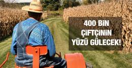 Bakan Naci Ağbal'dan 400 bin çiftçiye müjde