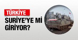 Türkiye Suriye'ye mi giriyor Rusya'dan olay açıklama