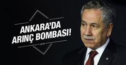 Ankara'yı karıştıran bomba kulis Bülent Arınç harekete geçti