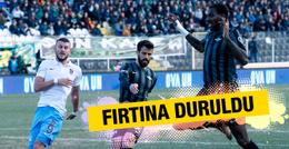Akhisar Belediyespor - Trabzonspor maçının özeti ve golleri