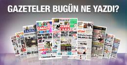 Gazete manşetleri 8 Şubat 2016
