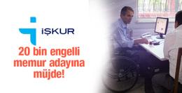 İŞKUR'dan 20 bin 455 engelli çalışana istihdam
