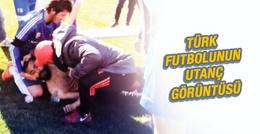 Türk futbolunun utanç görüntüsü