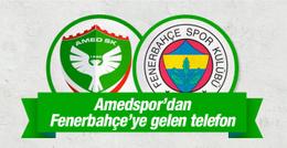 Amedspor'dan Fenerbahçe'ye gündem olan telefon