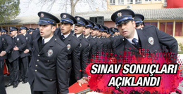 Polis memuru sınav sonuçları açıklandı