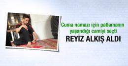Sabri Sarıoğlu Ulucami'de Cuma namazı kıldı