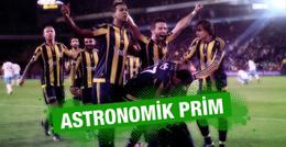 Fenerbahçe yönetiminden kupaya özel prim!
