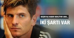 Mario Gomez Beşiktaş'ta kalmak için şartlarını belirledi