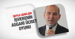 Süleyman Soylu'dan asgari ücret açıklaması
