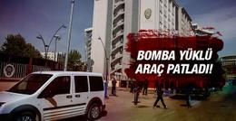 Gaziantep Emniyet Müdürlüğü önünde patlama